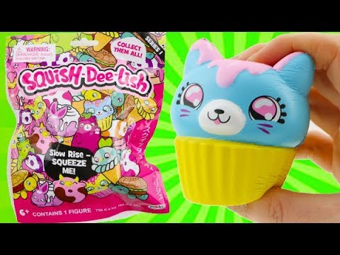 SQUISHY! Squish Dee-Lish Squish Blind Bag Toys! Slow Rise Squishy - YouTube