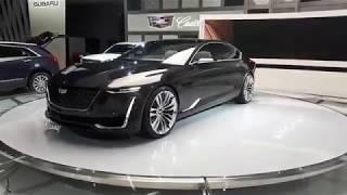 Concept Cadillac Escala au Salon de l'auto de Montréal