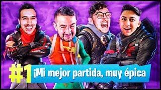 MI MEJOR PARTIDA EN FORTNITE ft. Buyer x Spurs x Elopi23