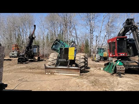 Time To Fix Logging Equipment