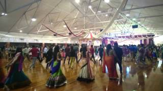 Auckland Gandhi hall garba day 3 part 2
