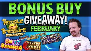 €200 Feature Buy Giveaway - February Results