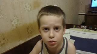 ребенок 4 года рассказывает стих о войне в Горловке