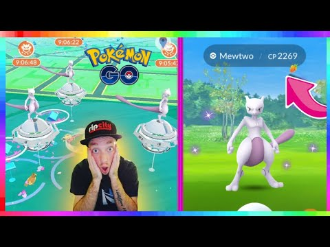 98%IV MEWTWO CAUGHT - FIRST EVER NORMAL MEWTWO RAIDS in Pokemon Go!
