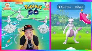 LIVE🔴 SHINY MEWTWO RAIDS in Pokemon Go! 💚 How to Catch Shiny Mewtwo 💚