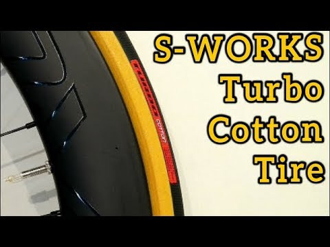 Specialized Turbo Cotton 700x26c Road Bike Tire Review Weight and Size