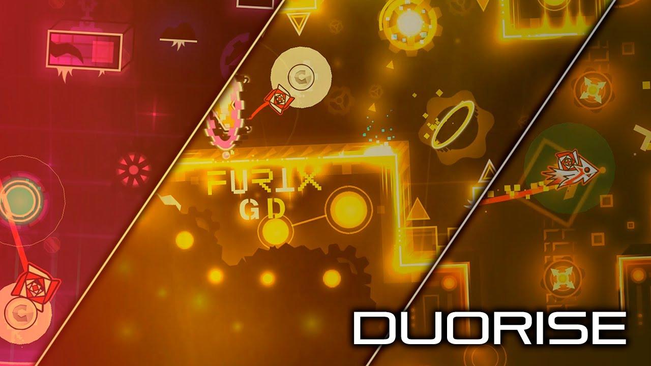 Download Duorise [Weekly Demon] - DiamondGirl01, Apollone, Furix GD & DangerKat - Geometry Dash 2.11