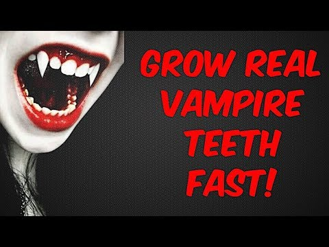 Grow Vampire Fangs Fast! Subliminals Frequencies Hypnosis Spell