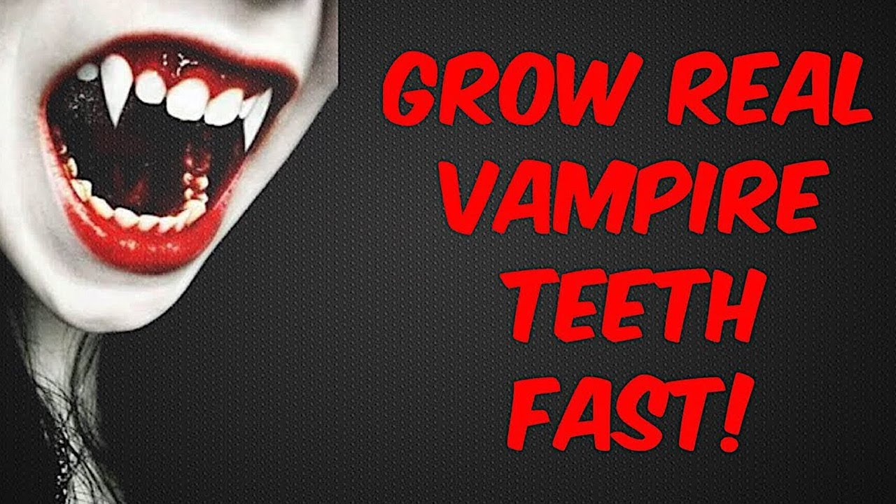 Grow Vampire Fangs Fast Subliminals Frequencies Hypnosis