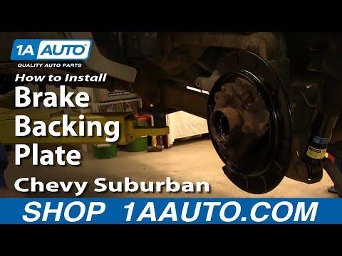 Dorman Brake Drum Backing Plate Panel Mount for GMC Chevy Pickup Truck SUV Van