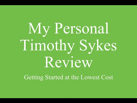 Timothy Sykes Review | Timothy Sykes Review 2014