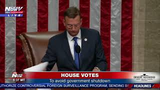 AVOIDING SHUTDOWN: House votes to temporarily extend government funding (FNN)