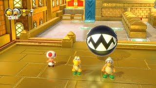 Super Mario Party Partner Party #389 Tantalizing Tower Toys Koopa Troopa & Hammer Bro vs Luigi & Boo