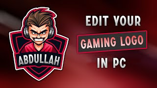 How To Edit Mascot Gaming Logo in PC