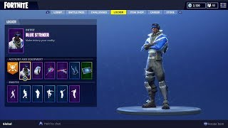 Comment obtenir Blue Striker - Blue Shift gratuitement à Fortnite!