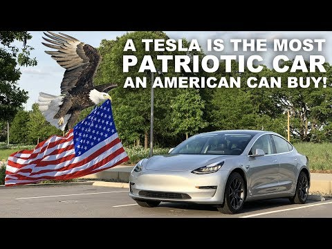 Tesla Model 3 owner lays the case on why the US is better off supporting TSLA