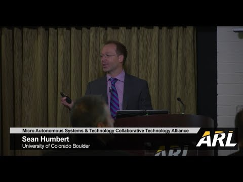 Micro Autonomous Systems and Technology capstone talk