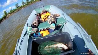 Рыбалка на Иртыше август 2017 ч2