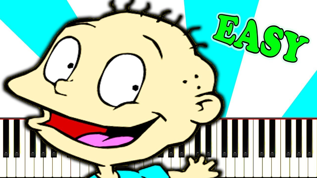 Rugrats Theme Piano Tutorial