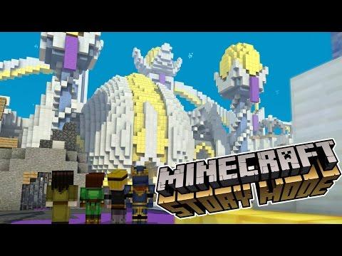 EPIC SKY CITY!!!   Minecraft : Story Mode   Episode 5 [2]