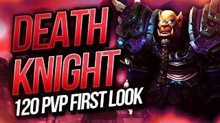 DEATH KNIGHT 120 PVP BFA FIRST LOOK | 3v3 & Initial Impressions | Cdew