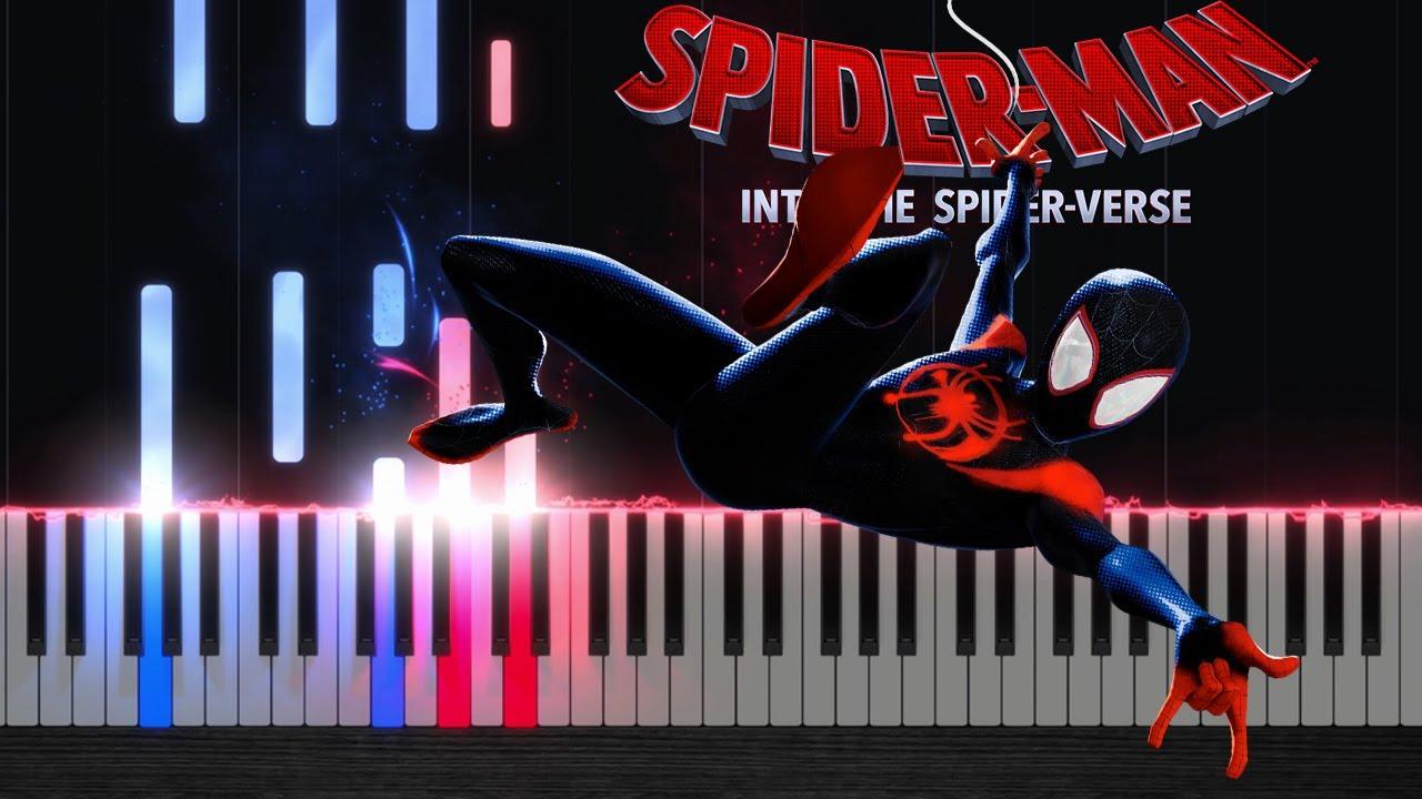 sunflower post malone spiderman into the spider verse piano tutorial gotti pros