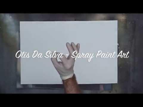 Spray Paint Art Tutorial 1 - Planet in universe thumbnail