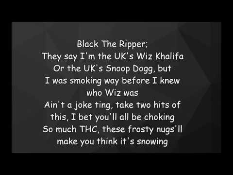 Nafe Smallz ft Chip & Black The Ripper - Smokin Remix (Lyrics)