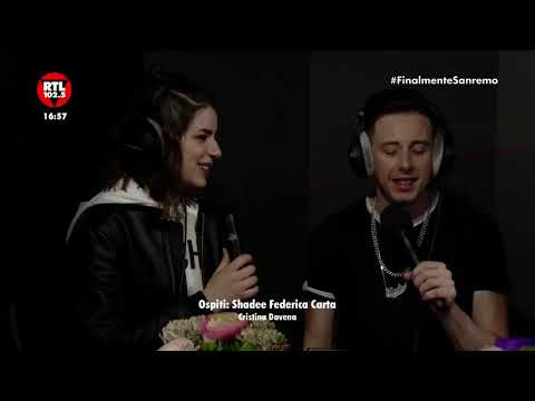 Shade, Federica Carta e Cristina D'Avena a RTL 102.5