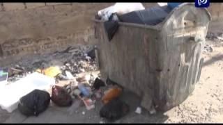 حرق النفايات - محافظة الزرقاء