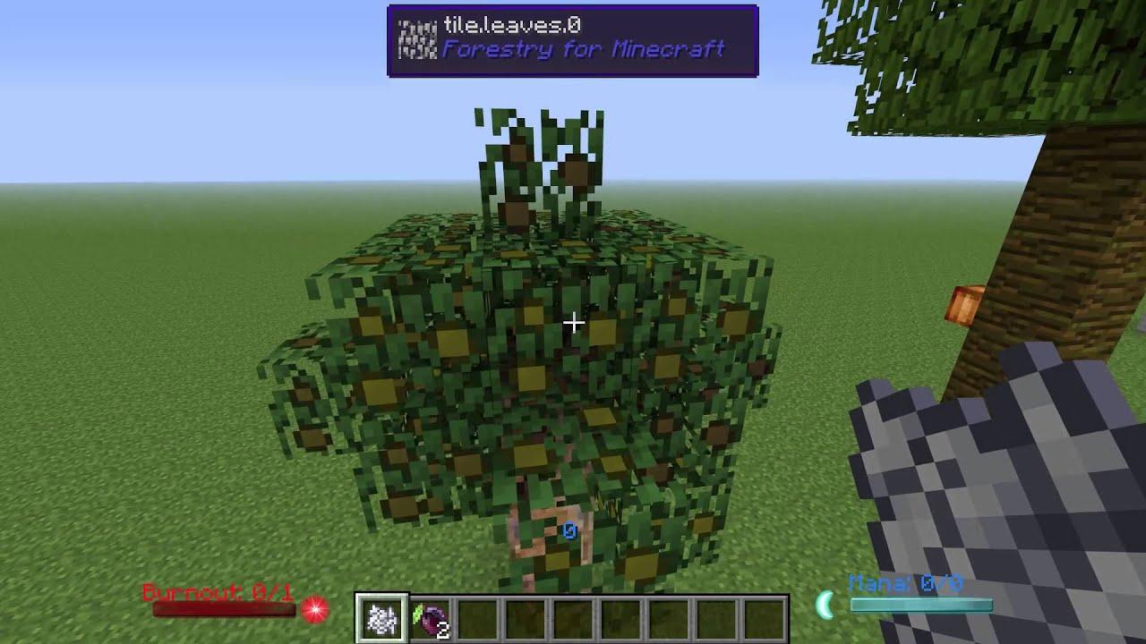 Tree Breeding in 1 6 4 | Feed the Beast
