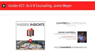 Insider 037: As U R Counseling, Jamie Meyer