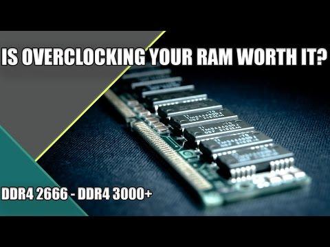 Is Overclocking RAM Worth It? | DDR4 2666MHZ vs DDR4 3000MHZ | Gaming &  Editing