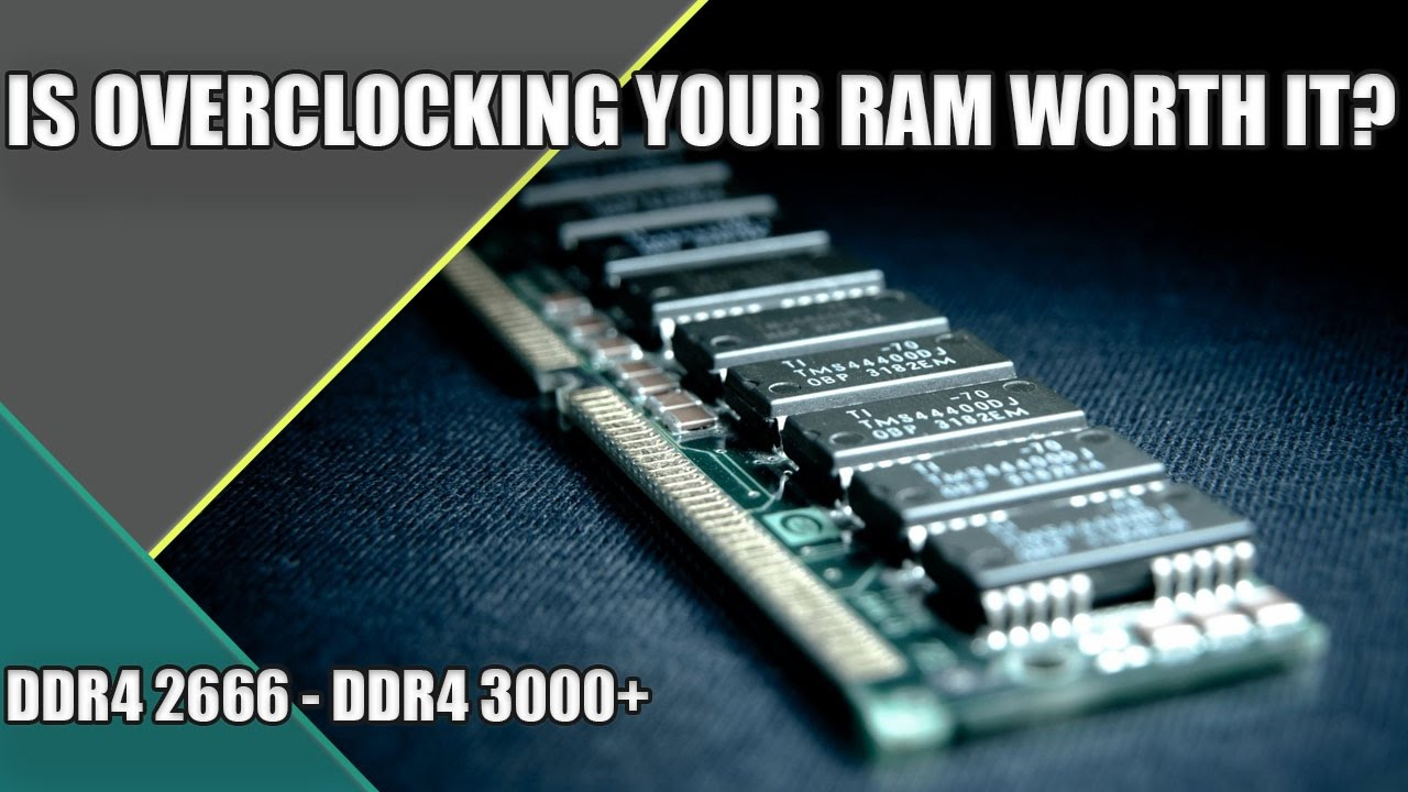 Is Overclocking RAM Worth It? | DDR4 2666MHZ vs DDR4 3000MHZ | Gaming &  Editing