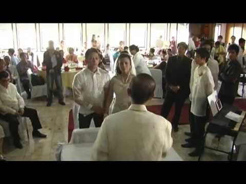 PART 1 - MYSTICA & KID LOPEZ WEDDING AT THE GREAT EASTERN HOTEL