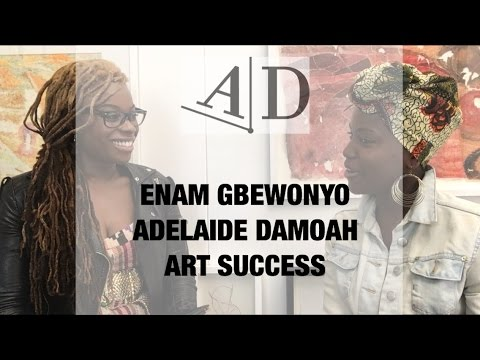 Enam Gbewonyo, Art Discussion: In Conversation with Adelaide Damoah