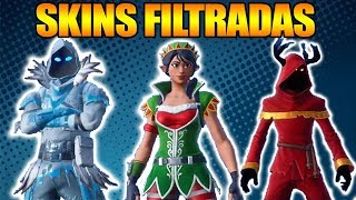 Filtered!! *NEW SKINS* FROM CHRISTMAS - FORTNITE: Battle Royale