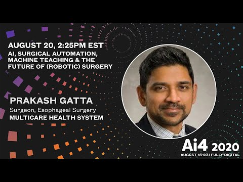 AI, Surgical Automation, Machine Teaching & the Future of (Robotic) Surgery
