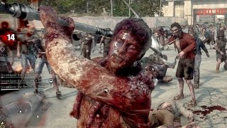 Dead Rising 3 Weapon Showcase & Killing Zombies