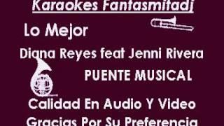 jenny rivera y diana reyes-ajustando cuentas   karaoke full