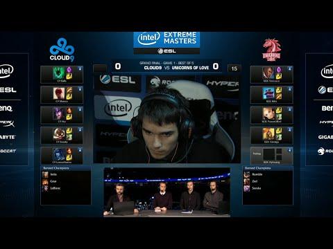 Cloud 9 vs Unicorns of Love | Game 1 Grand Finals IEM San Jose LOL 2014 | C9 vs UOL G1