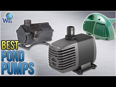 10 Best Pond Pumps 2018