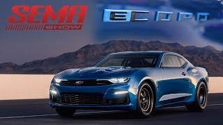 BRAND NEW Chevrolet eCOPO Camaro at SEMA Reveal 2018 SEMA Show V8TV