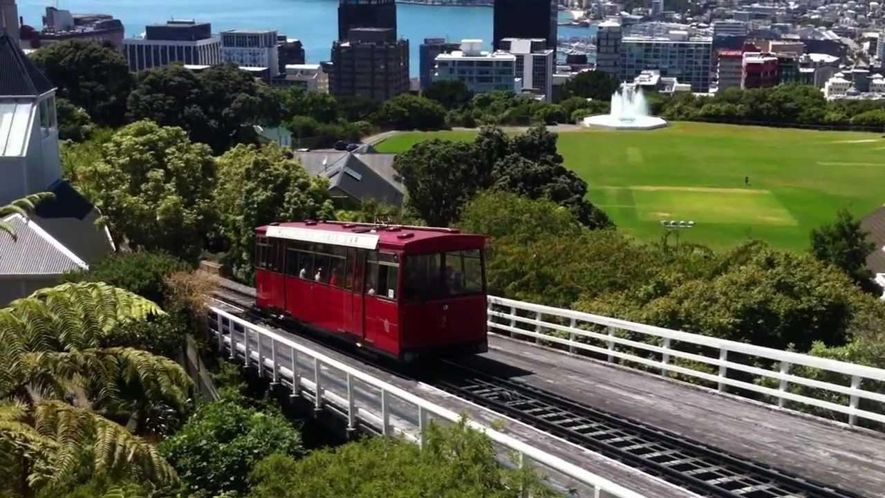 Wellington Cable Car New Zealand Youtube