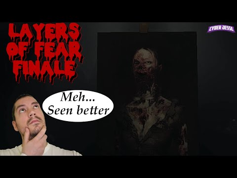 We Finish The Painting!!? | Layers Of Fear Horror Lets Play | FINALE!!! |
