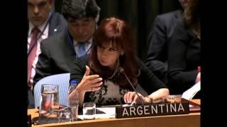 Cristina Fernandez Consejo de Seguridad Discurso Completo