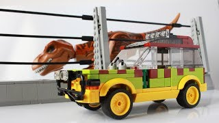 Lego Ford Explorer from Jurassic Park MOC