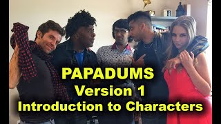 Papadums - Intro to characters