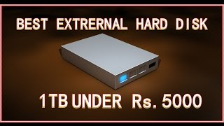 Best external hard disc in india