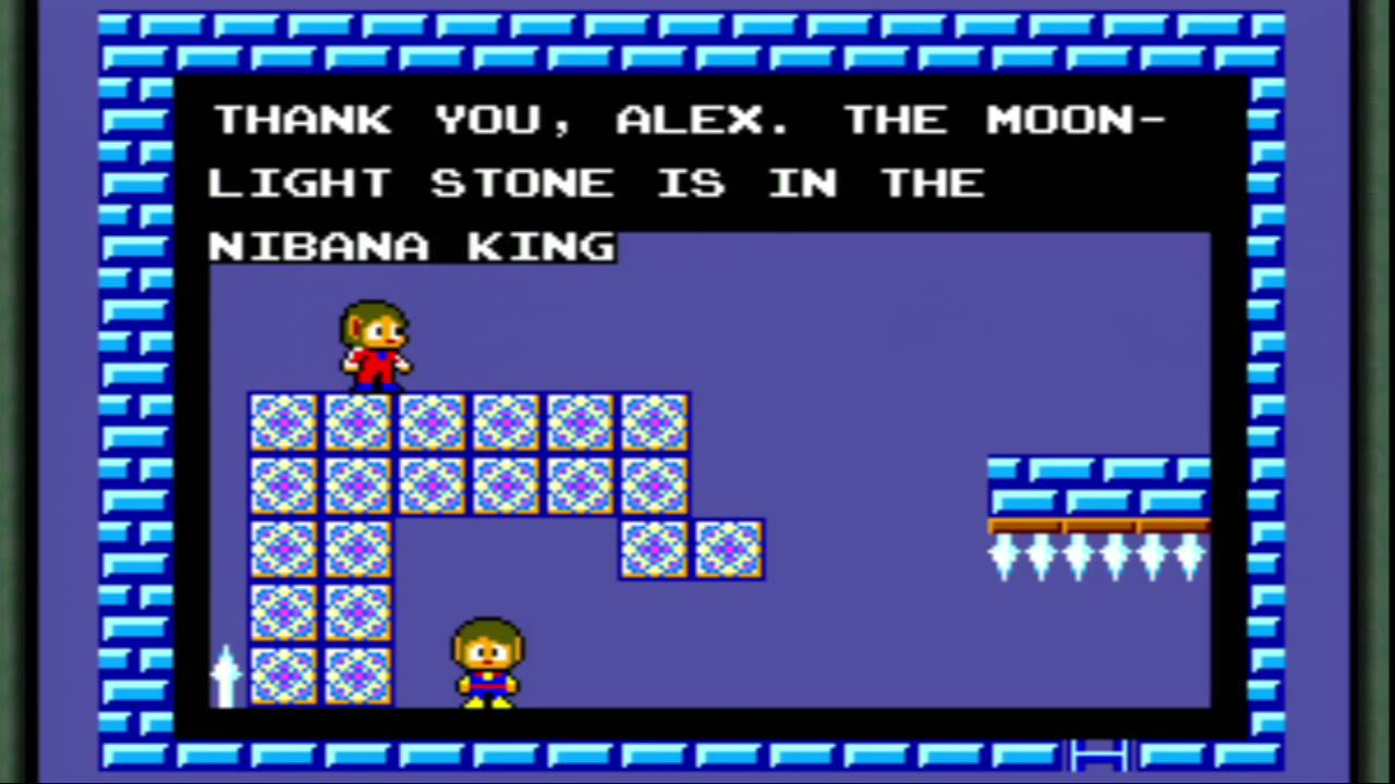 Alex Kidd In Miracle World The Castle Rescue Walkthrough Part